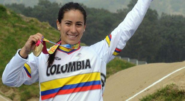 Mariana Pajón volvió a ganar en Argentina y se coronó campeona de la Copa Mundo de BMX