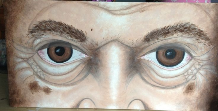 Old Man Eyes, not finished