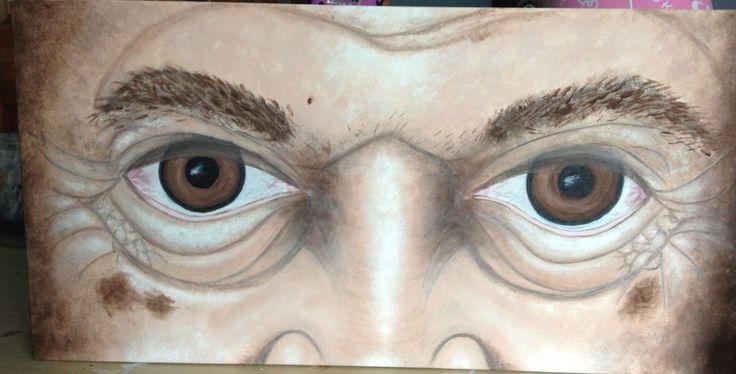 Old Man Eyes, not finished