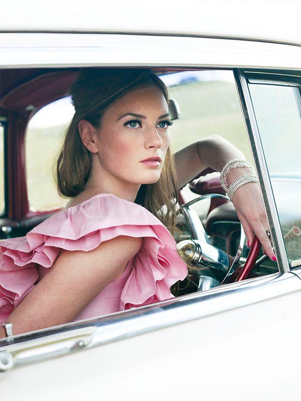 : Fashion, Girl, Style, Corrie Bond, Pink, Beauty, Photo