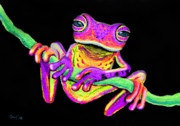 Purple Frog#Repin By:Pinterest++ for iPad#