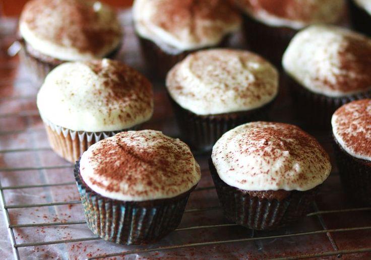 tiramisu cupcakes #cupcakes