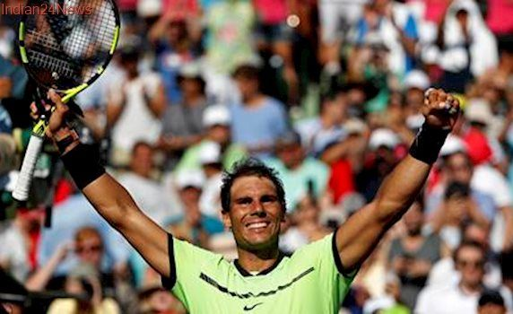 Miami Open: Rafael Nadal beats Jack Sock in quarters, Kei Nishikori out