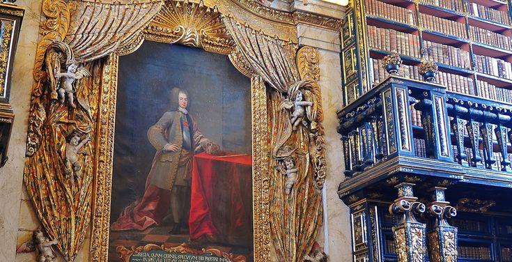 Biblioteca Joanina Coimbra  (Imagem: Reprodução Universidade de Coimbra)