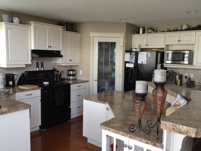 Quilters White Kitchen Pinterest Cabinet Transformations