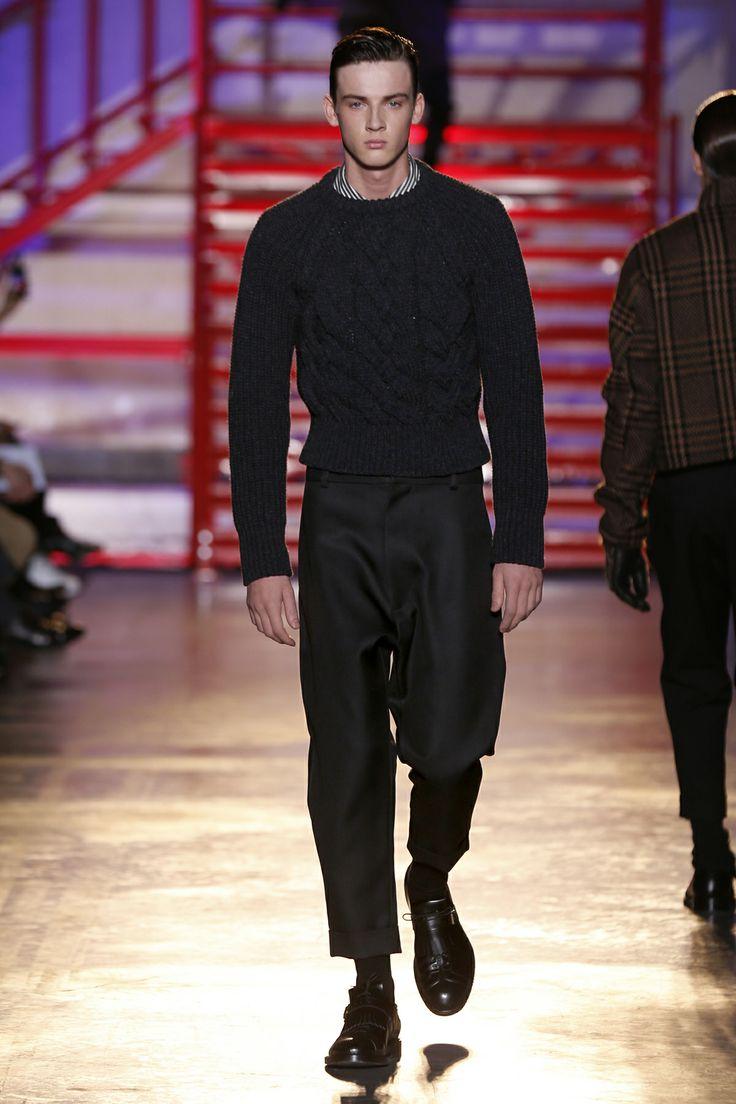 CERRUTI 1881 PARIS FW 14-15 Men's Fashion Show - Look 12