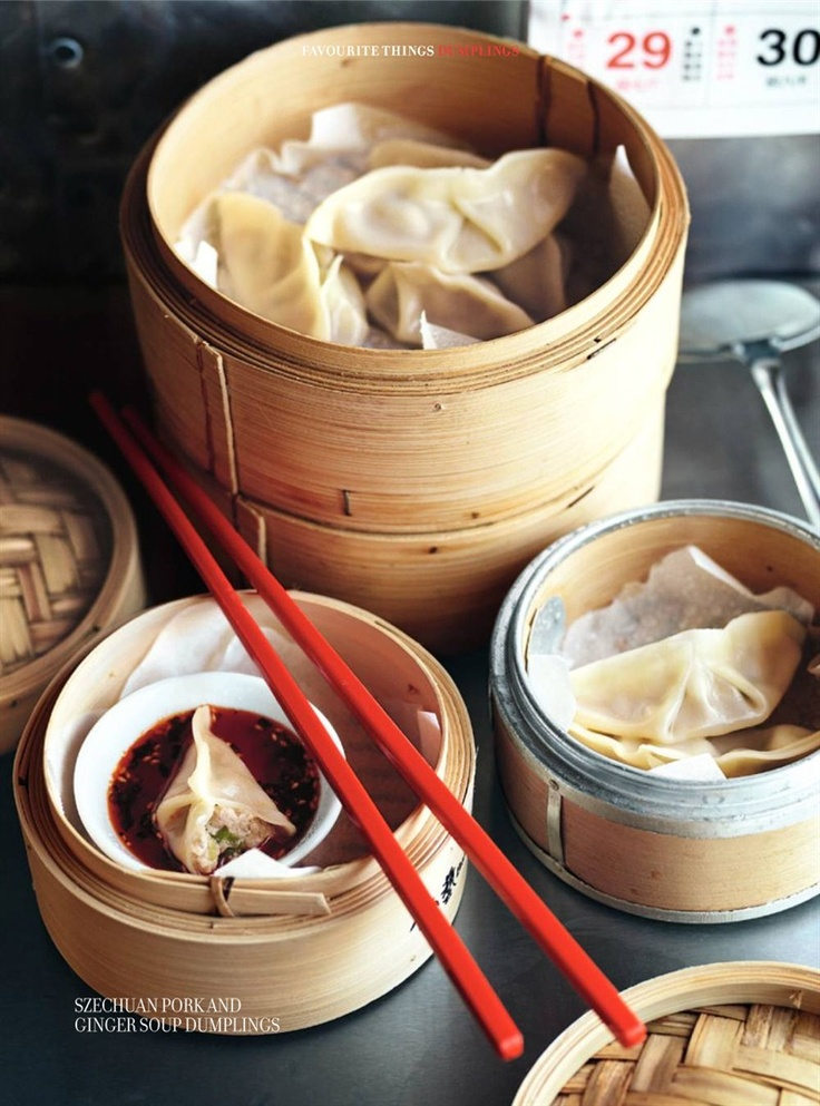 Donna Hay - fresh vegetarian dumplings