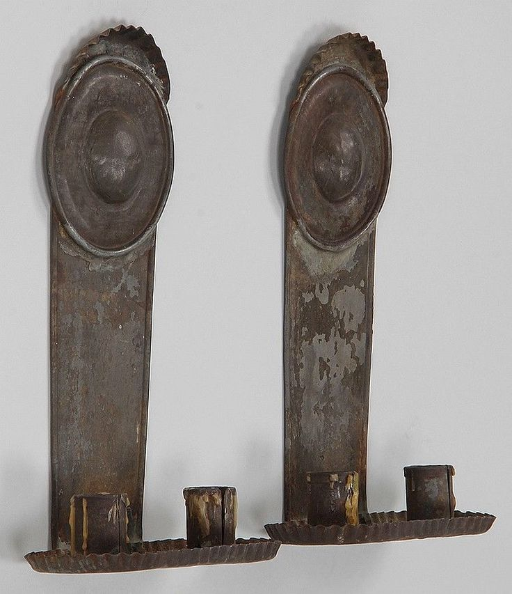 Primitive Wall Sconces Candles : 17 Best images about Primitive Early Lighting....YUMMMM on Pinterest Tin candles, Sconces and Tins