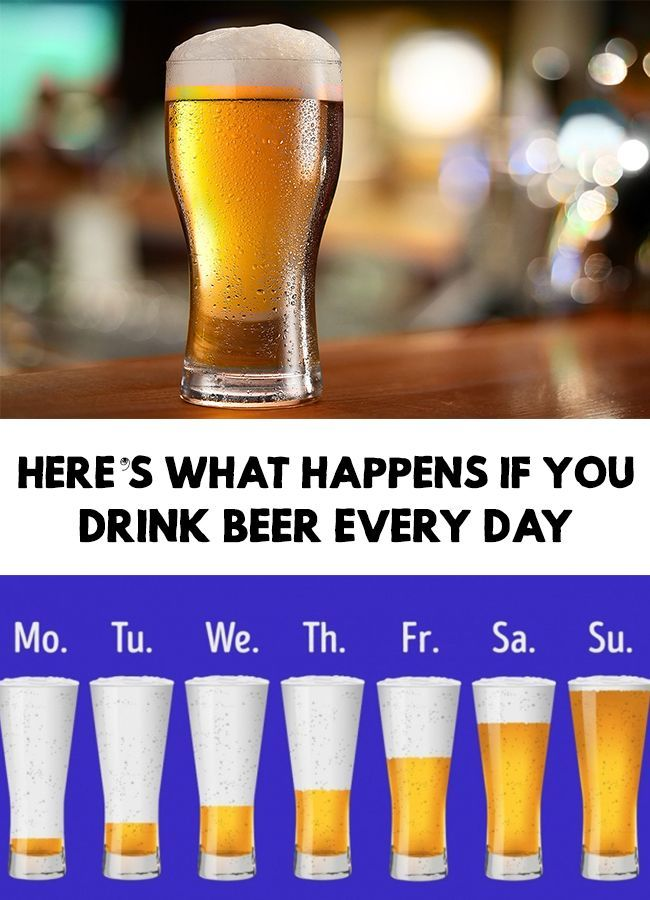 The dangers of alcohol are public knowledge and nobody is taken by surprise already. Here�s What Happens If You Drink Beer Every Day!
