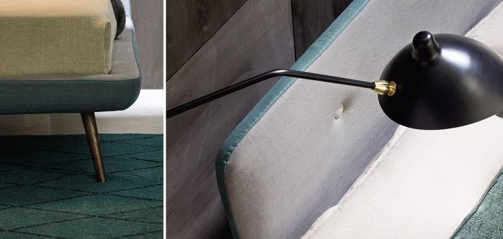 Circe, Beds, Products   Novamobili. #Design by Edoardo Gherardi. #novamobili #bed #aboutNIGHT