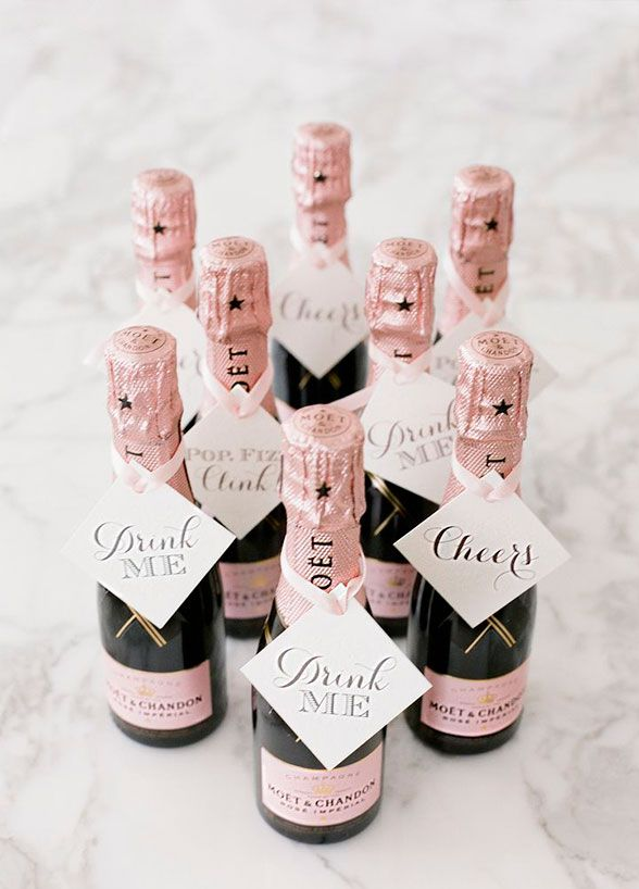 At a sun soaked event, your guests will be more than thankful for a refreshing beverage to help them keep cool! #weddingfavors
