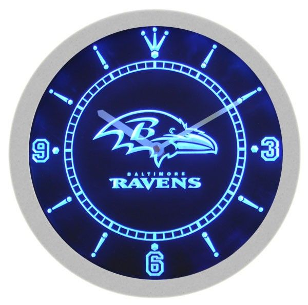 Baltimore Ravens American Football Neon Sign Bar Wall
