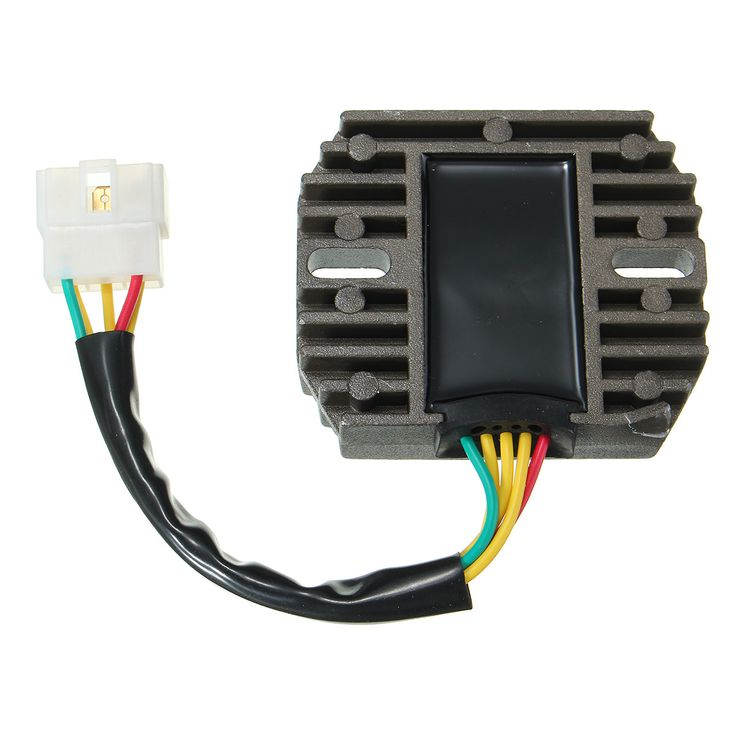 Voltage Regulator Rectifier For Suzuki GSXR 1300 Hayabusa 2004-2007  Description: Easy to install Prevents over charging battery and improve charging capability With heat sink fins for better cooling Fitment: Suzuki LTF 500 F Quadrunner 4x4 Manual 1998-1999 Suzuki GSXR 1000 2001-2004 Suzuki GSXR 600 1997-2005 Suzuki GSXR 750 1996-2005 Suzuki Hayabusa GSX1300R 1999-2007 Suzuki VL 1500 Intruder 1998-2004 Suzuki VL 1500 Intruder LC 1998-2004 Package Included: 1 X Voltage Regulator Rectifier…