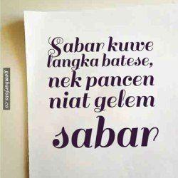 Kata Bijak Bahasa Jawa