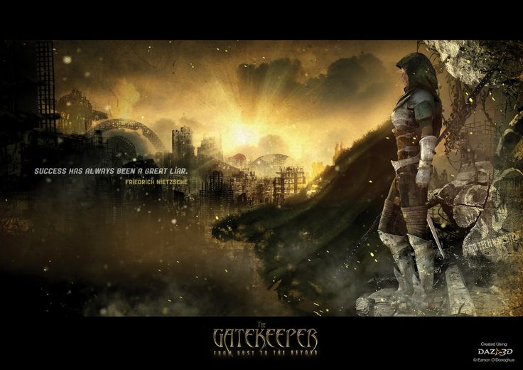 The Gatekeeper is the story of a living instrument of salvation created at the end of time in order to erase the many mistakes of mankind in the hopes of saving our once precious planet.