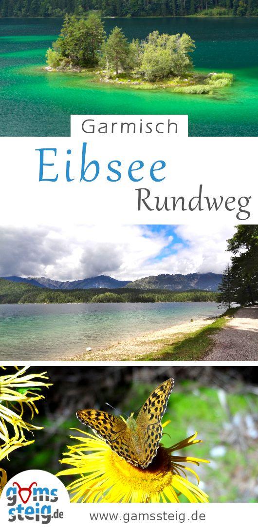 Eibsee-Rundweg bei Garmisch