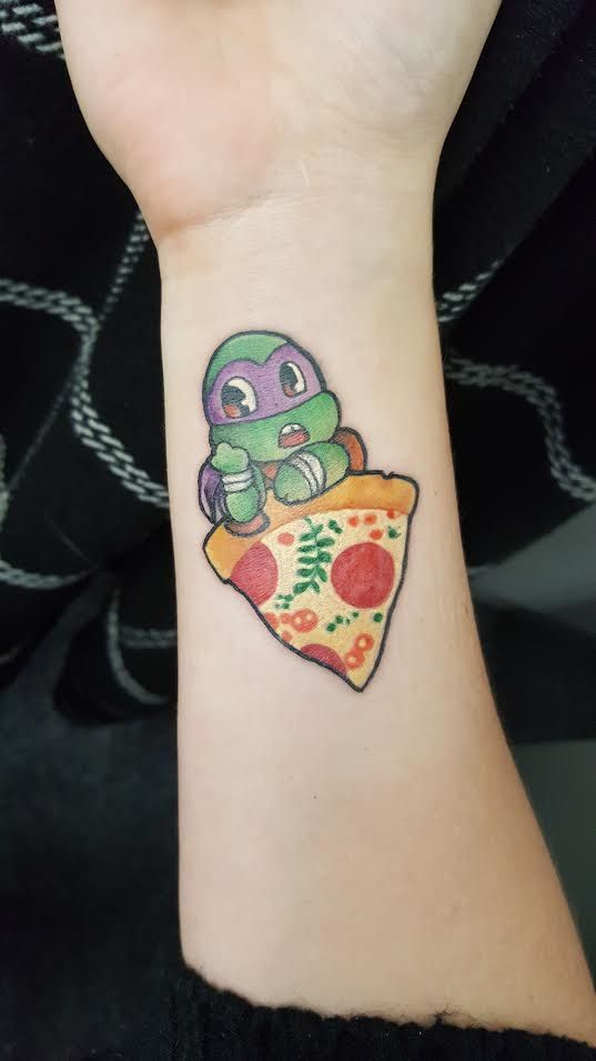 My newest tattoo! Turtle fan for life!