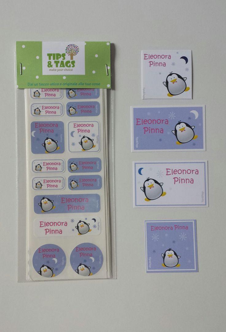 Etichette personalizzate per bambini