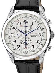 Seiko Neo Classic Chronograph with Perpetual Calendar, Alarm #SPC131P1
