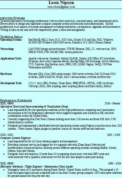 49 best Resume Writing Service images on Pinterest Resume - resumes for servers