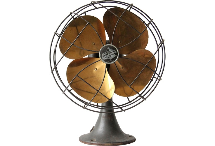 First Electric Fan : First electric fan invented