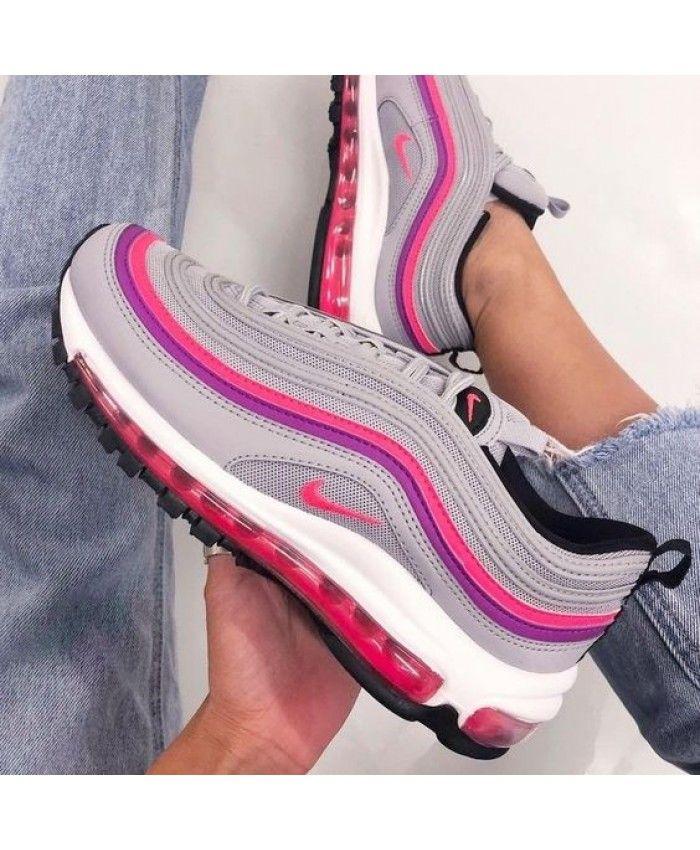 3a0e9c65cc11 Nike Air Max 97 Wolf Grey Purple Pink White