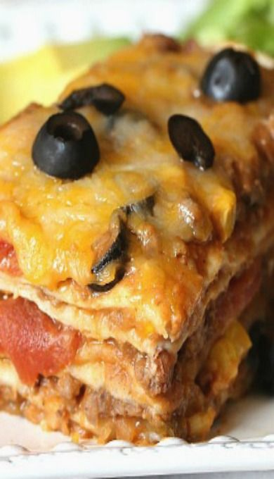 Burrito Lasagna could be good for when I'm on soft diet.