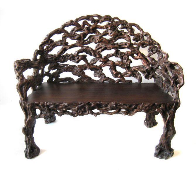 Необычная мебель из корней и коряг, 18-20 век | Terra-Z
