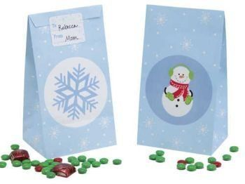 """Snowflake Paper Bags w/Sticker Seals 12 Per Pack by Creative Converting. $4.89. Manufactured to the Highest Quality Available.. Design is stylish and innovative. Satisfaction Ensured.. Size: 8"""" x 4.25"""". Creative Converting is a leading manufacturer and distributor of disposable tableware including high-fashion paper napkins plates cups and tablecovers in a variety of solid colors and designs appropriate for virtually any event"""