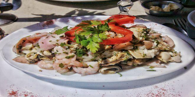 Mariscal Frío, una Deliciosa Receta Tradicional Chilena, refrescante e ideal para semana santa o para los calurosos meses de verano.
