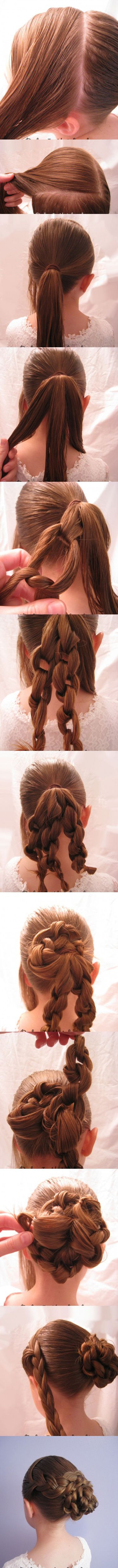 13 Rather Simple Bun Hairstyles Tutorials for 2014 | Pretty Designs