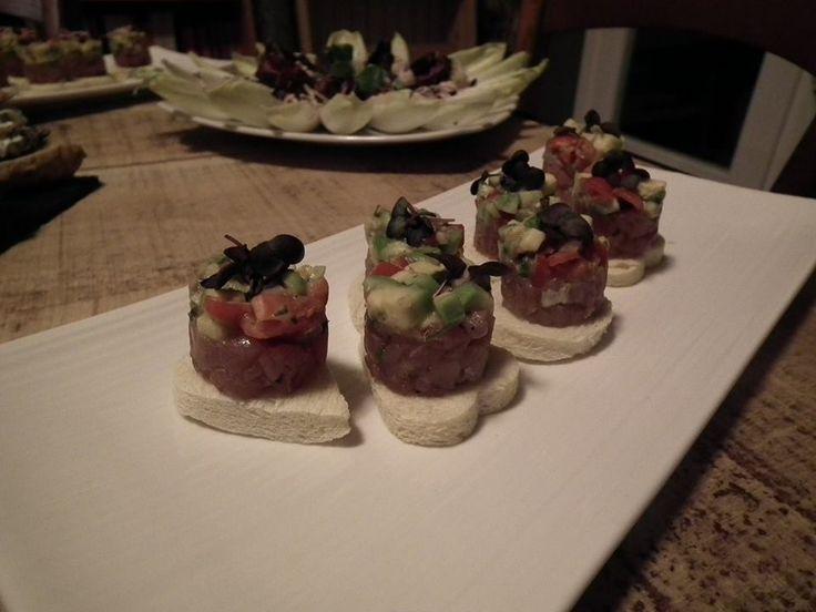 Tartara di tonno e guacamole