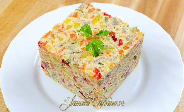 Salata de boeuf - reteta video