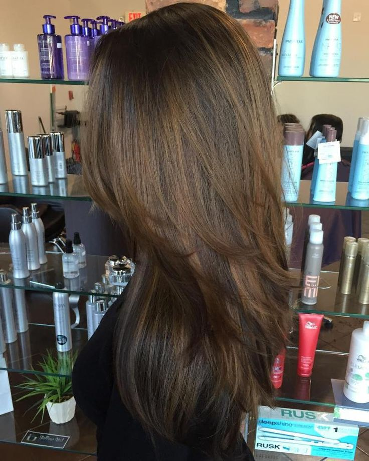 Golden Highlights On Dark Hair Trendy Hairstyles In The Usa