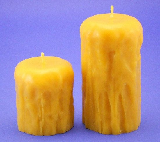 Dripless Candles Handmade Organic Beeswax Candles by EpicBeeswax, $30.95