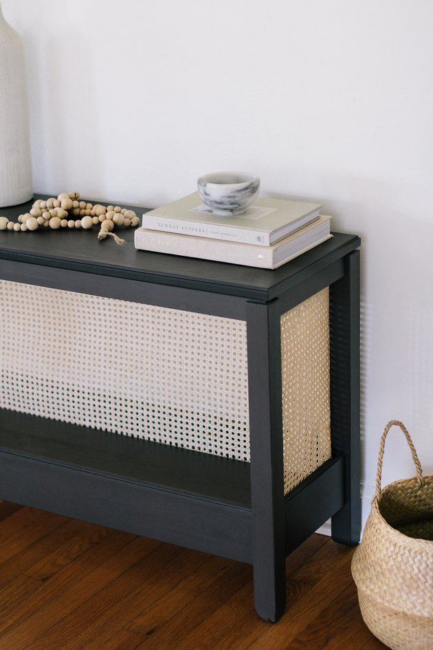 13 Small Space Savvy Ikea Hacks Hunker Ikea Console Table Diy Console Table Diy Console