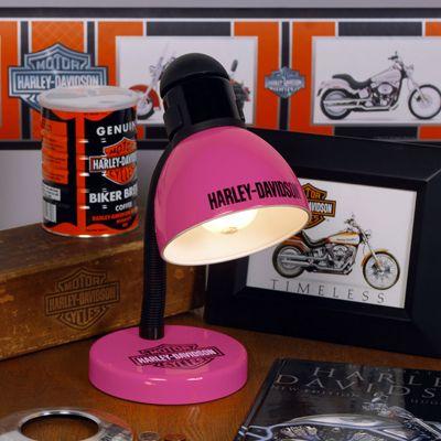 Harley Davidson Very Cute Pink Desk Lamp