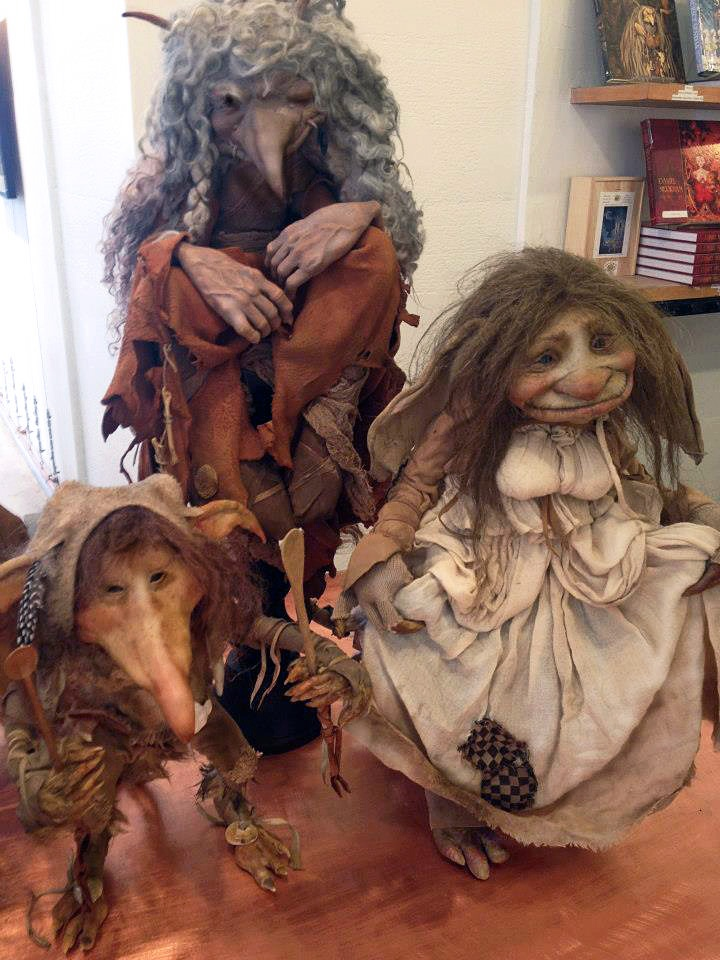 """Artist Brian Froud - """"I've been engaged with mythic imagery ever since I picked up that Rackham book, but it really came into focus for me when I moved from London to the country.  There the old stories seemed to come alive around me; the faeries were a tangible aspect of the landscape, pulses of spirit, emotion, and light."""""""