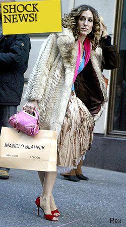 Manolo Blahnik Carrie