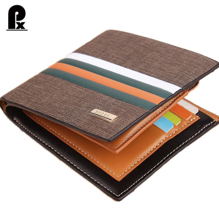 Cheap purse, Buy Quality wallet ring directly from China wallet cell phone holder Suppliers:               2016 designer genuine pu leather wallet men wallets luxury brand Brown Striped rus