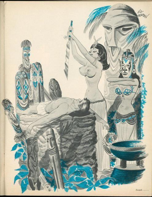 1960s Tiki Erotica (WARNING: NUDITY) -- Tiki Central