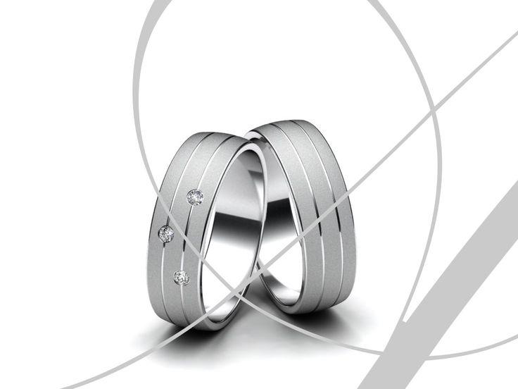 Aiola Snubní prsteny A377