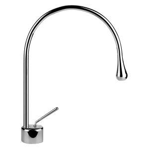 33602 - Gessi Goccia Basin Mixer With Spout R125mm - Bathroom #abeyaustralia #gessigoccia #basinmixer