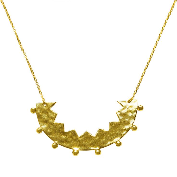 Frida Neclace in 18 KT Yellow Gold. Shop the full collection at www.murkani.com.au