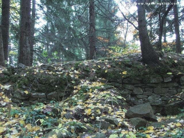 The ruins of Harom fortress - #Harghita #Transylvania