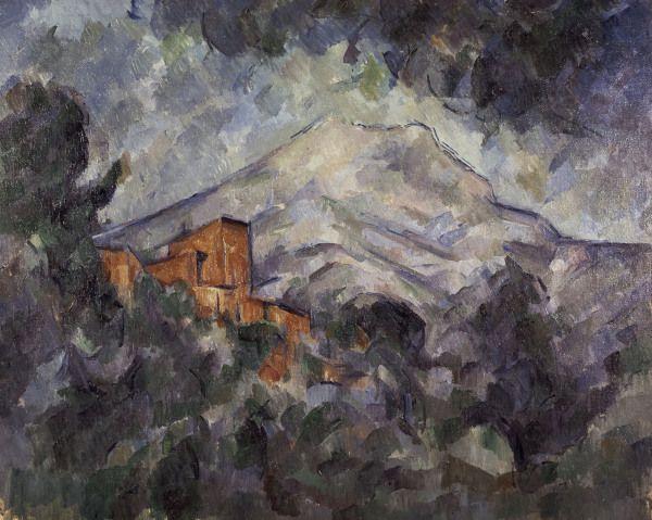 Titre de l'image : Paul Cézanne - Montagne Sainte-Victoire