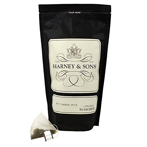 Harney and Sons Spice Tea, Hot Cinnamon, 50 Count ** Check out this great article.