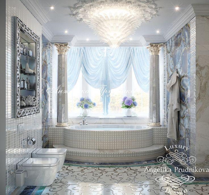 Ванная комната - Дизайн коттеджей