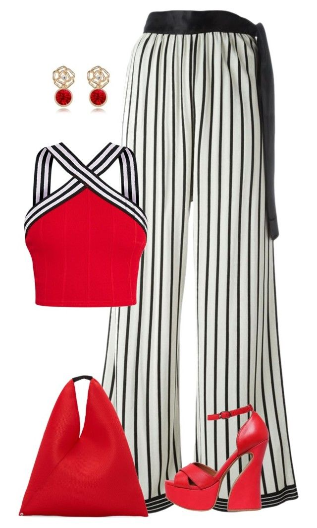 Sin título #1676 by marisol-menahem on Polyvore featuring moda, Jean-Paul Gaultier, Jeffrey Campbell and MM6 Maison Margiela