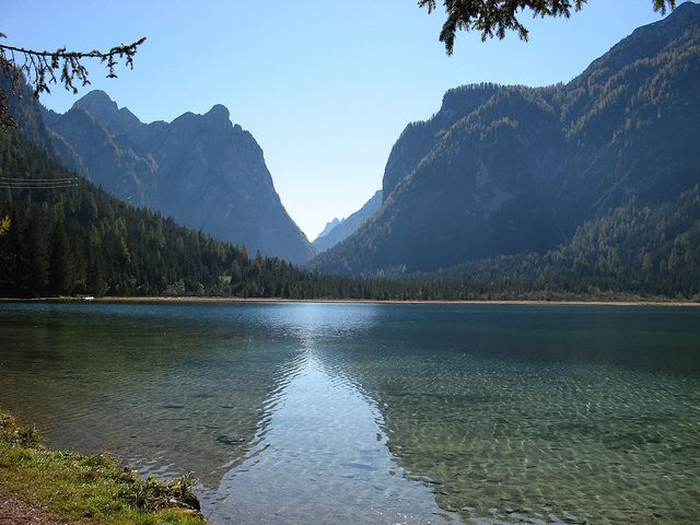 Toblacher See, South Tyrol, Italy